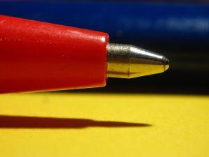 book proposal editing pen
