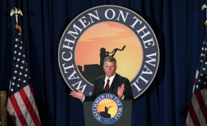 Franklin Graham and his holiness fail.
