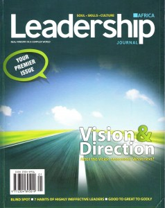 failure of leadership journal with youth pastor