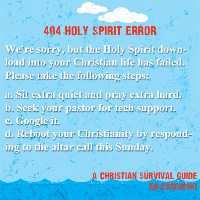 Holy Spirit Download Error