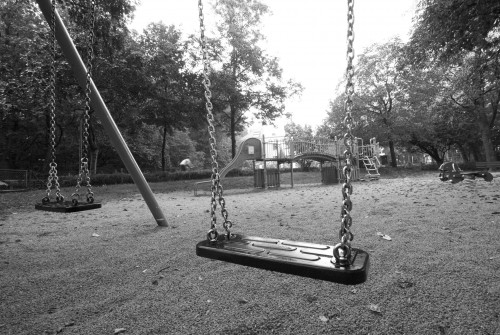 Early Morning on Playground