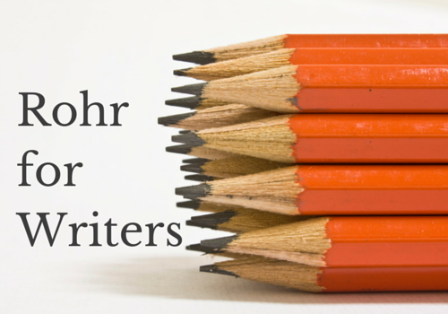 Rohr forWriters